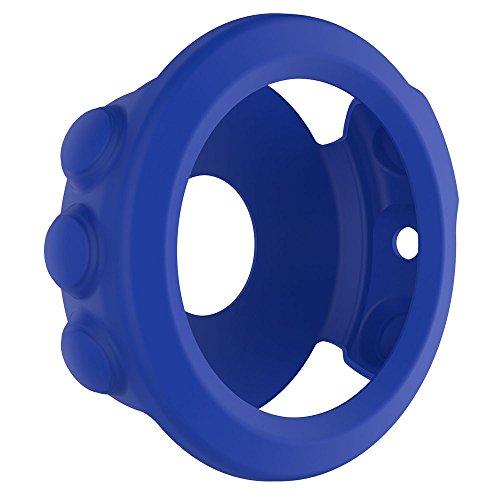 Für Garmin Fenix 5X GPS Watch Dünner Bunter Silizium Kasten Abdeckung Case Cover Schützen Shell Schutz Hülse Protect Shell, Weich und flexibel. (Blau)