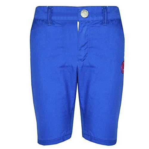 Kids Shorts Girls Boys Fleece Chino Shorts - Boys Cotton Shorts Royal Blue - 9-10 Years
