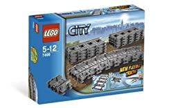 Toy / Game Lego City Flexible Tracks - Extend Your Rails To Make Your Engines Go Places They Never Have Before