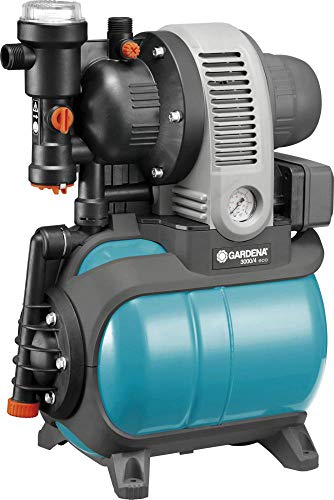 Gardena 01753-61 Hauswasserwerk 3000/4 eco, 650 W, türkis, schwarz, Orange