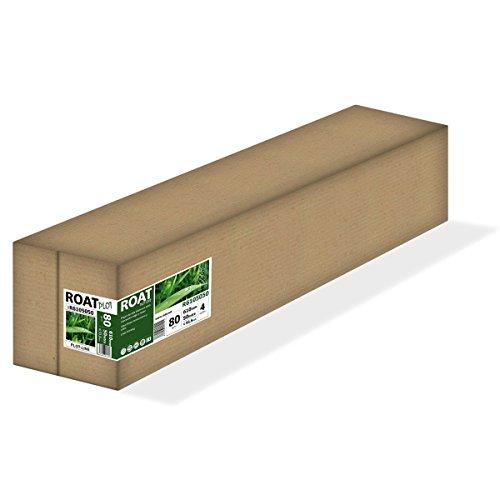 Roat r6105050–Rolle Inkjet-Papier 80gr, 610mm x 50mtrs, extra weiß, für alle Arten von Plotter, 4Stück/Box
