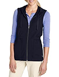 Eddie Bauer Damen French-Terry-Weste