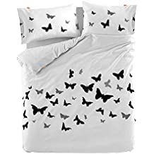 blanc. by HappyFriday Butterflies Funda NORDICA (240_x_220_cm)