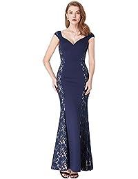 cb50b48c68 Ever Pretty Women s Floor Length Fishtail Sleevelees Formal Party Evening  Dress 07279