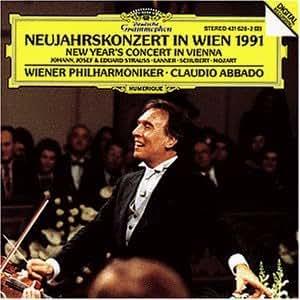 Concert du Nouvel An a Vienne 1991-Cl.Abbado-Orch.Phi.Vienne