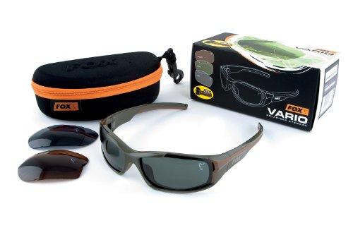 Fox Vario Sunglasses Polbrille, Modell:Grüner Rahmen