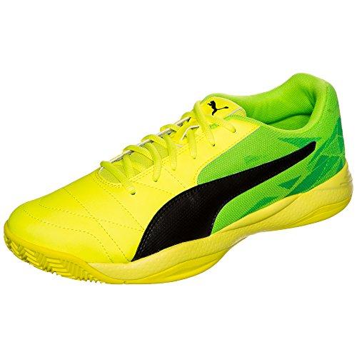 Puma Veloz Indoor Iii, Chaussures de Football Mixte Adulte neongelb / neongrün