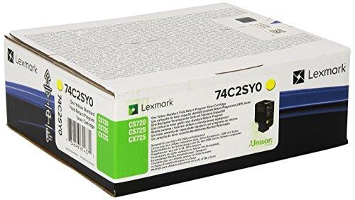Preisvergleich Produktbild LEXMARK PB Toner yellow 7K CS720, CS725, CX725