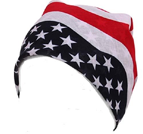 9 PM Bandana Bufanda varios diseños (Bandera de Estados Unidos) 23b7e2cc769