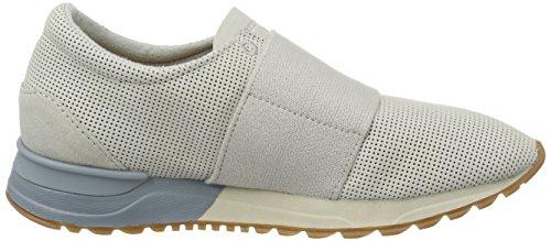 Marc O'Polo - 70113893503200 Sneaker, Scarpe da ginnastica Donna Grigio (Stone)