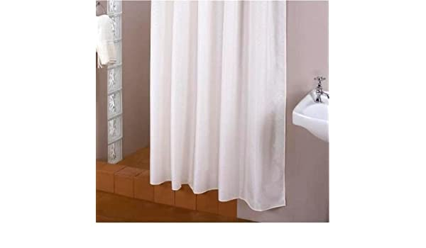 Extra Long Shower Curtain 220 Wide X High White Fabric Amazoncouk Kitchen Home