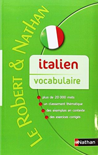 Robert & Nathan Vocabulaire italien contemporain
