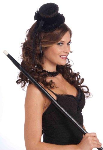 Mini Top Hat (Black) Fancy Dress (Großhandel Kostüm Top Hats)