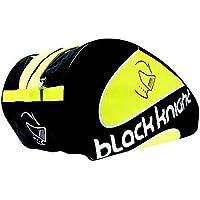 BLACK KNIGHT Raquetero Térmico Squash Triple