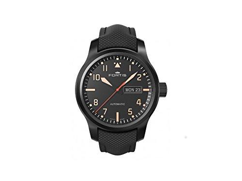 Fortis Reloj los Hombres Aeromaster Stealth Automática 655.18.18 LP 01