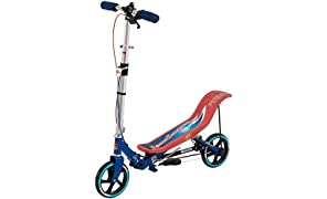 Space Scooter Ride On, Red-Blue
