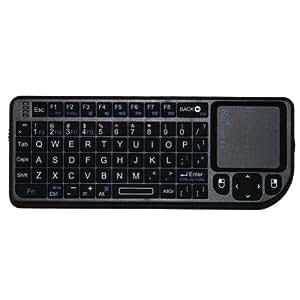 Oxford rii contrôleur de jeu ® x1 mini 2.4 g sans fil avec pavé tactile clavier souris pour pC/ordinateur portable smart tV
