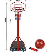 Genérico et Hoop B Backboard Wheeled Standi. Aro de red con ruedas, un soporte ajustable, soporte ajustable, soporte de pie y juego de baloncesto