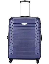 Aristocrat Juke Polycarbonate 65 cms Blue Hard Sided Suitcase (JUKE65TMIB)
