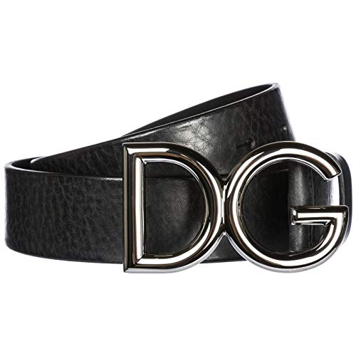 Dolce & Gabbana Herren Gürtel (DOLCE E GABBANA Herren Bc4247ai8948b577 Schwarz Leder Gürtel)