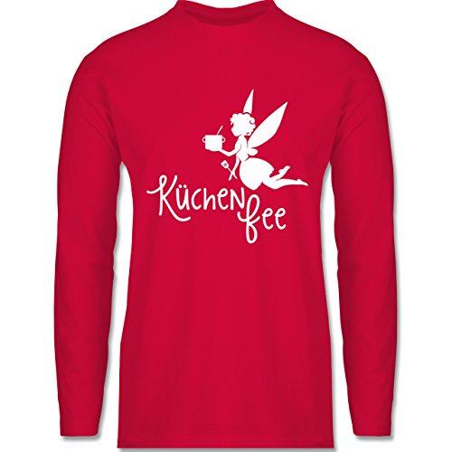 Shirtracer Küche - Küchen Fee - Herren Langarmshirt Rot