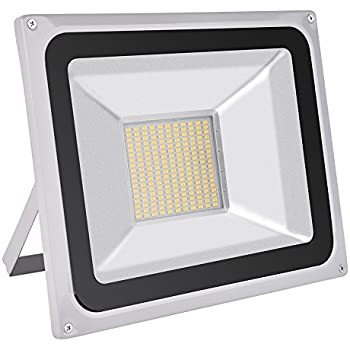 100w ip65 outdoor led floodlight high power led flood light 100w led flood light outdoor spotlight daylight white6000 6500k waterproof ac 200 240v security lights super bright 7000lm aloadofball Gallery