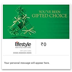 Choosing the right gift for your loved ones may not always be easy. Which is why, the Lifestyle Gift Cards are a perfect choice. Now, each time you want to make your loved ones feel special, gift them the freedom of choice with Lifestyle Gift Cards, ...