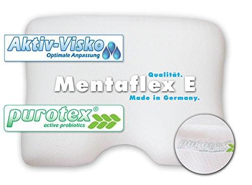 n Kissen mit Schulterausschnitt. Hochwertiges Kopfkissen mit Aktiv Viskose für perfekte Anpassung. Viscose, leicht, formstabil, wolkeneffekt, für Allergiker geeignet. ()