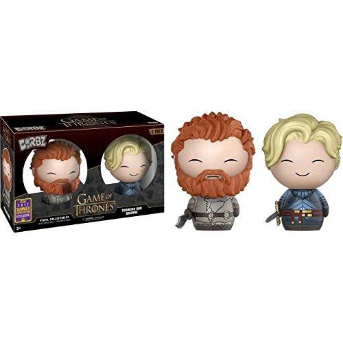 Figuras Vinyl Dorbz Game of Thrones Tormund & Brienne SDCC 2017 Exclusive,1unidades por pedido