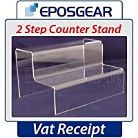 EPOSGEAR® 2 Step Counter Stand Small - Display Retail Equipment