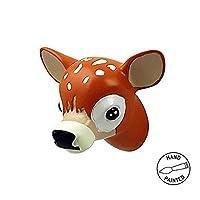 Capventure Baby Deer Wall Hook, Multi-Colour, 5.5 x 5 x 5.5 cm