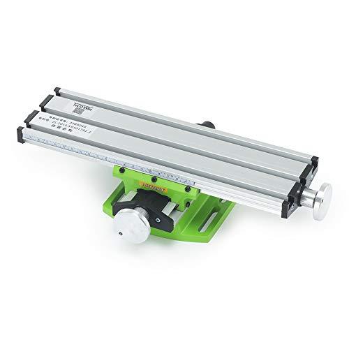 Fräs-Arbeitstisch-Maschine, craftsman168 Miniatur-Fräsmaschine Kreuztisch-Bohrtisch Multifunktions-Werkzeugmaschinen mit bohrendem...