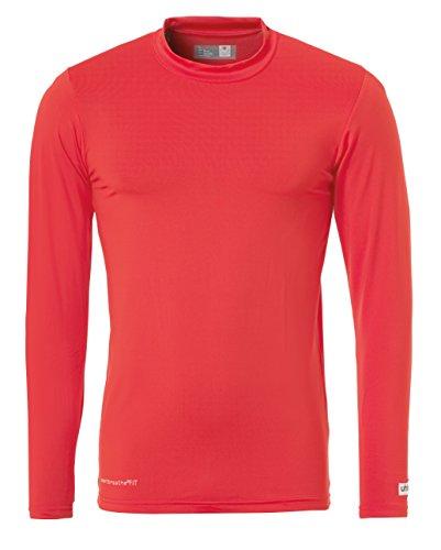 Uhlsport, Maglietta tecnica LA Uomo Rosso (rot)