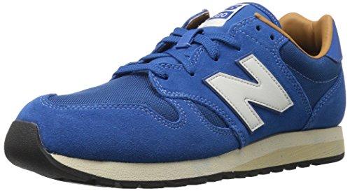 New Balance Männer 70er Jahre laufen U520V1 Classics Schuhe, 44.5 EUR - Width D, Classic Blue/Brown - New Schuhe Balance Männer Classic