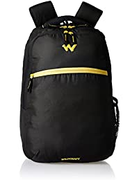Wildcraft 21 Ltrs Black Laptop Backpack (AM LBP2)