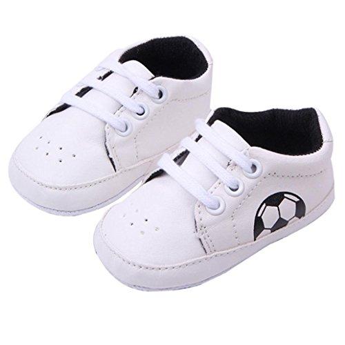 Baby Schuhe DDLBiz® Baby-Kleinkind-Walking-Schuhe (12CM, Schwarz)