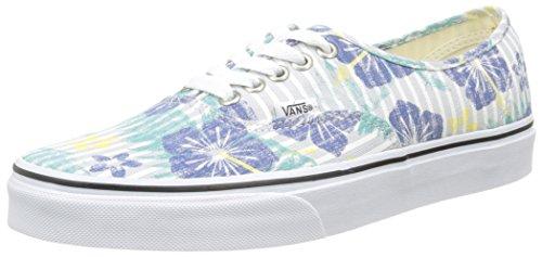 Vans-Authentic-Zapatillas-Unisex-Adulto-Multicolor-Aloha-Stripestrue-Bluetrue-White-40