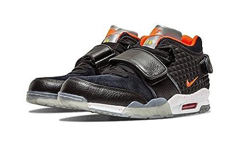 Nike Men's Air V. Cruz QS Football Boots, Black / Red / White (Blk / Brght Crmsn Yllw-White-Tr), 11