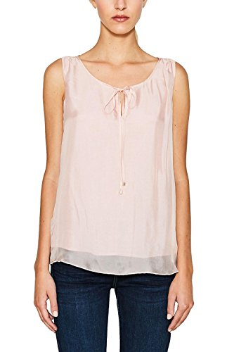 ESPRIT Collection 077eo1f011, Blusa para Mujer, Rosa (Nude 685), 36