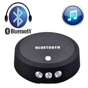 VicTsing Bluetooth 4.0 NFC Wireless Adaptateur Musical Récepteur Audio Stéréo Kit mains libres voiture pour HTC un M8, Nokia Lumia 820, Nokia Lumia 822, Nokia Lumia 810, Sony Experia S, Xperia Z2, Experia P, Experia Ion, Xperia TX (ST29i), Experia V, LG G Pro 2