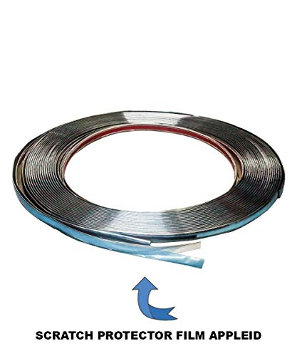 SPAIKO Side Window Chrome Beading Roll 10 Meter for All Cars (20mm)