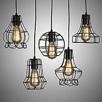 GS~LY American village ferro battuto lampadario soggiorno sala da pranzo