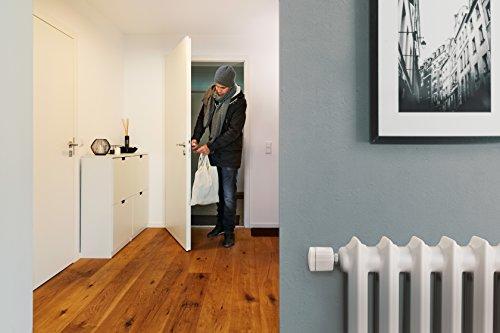 Elgato Eve Thermo - Heizkörperthermostat mit Apple HomeKit-Technologie, LED-Display, integriertes Touch-Bedienfeld, Automatische Temperatursteuerung, Keine Bridge erforderlich, Bluetooth Low Energy - Bild 3