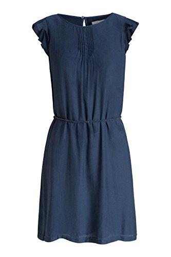 Esprit Fließend, Robe Femme Bleu (NAVY 400)