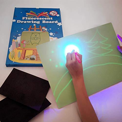 ❤ ❤ iLight – Pizarra Infantil Mágica de Dibujo con Luz Real ❤ ❤ Fomente la imaginación y creatividad de su niño o niña con nuestra pizarra mágica que se dibuja con Luz Real! Permite disfrutar de todas las ventajas de pintar, sin riesgos de manchas, t...