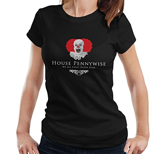 House Pennywise We All Float Down Here IT Women's T-Shirt