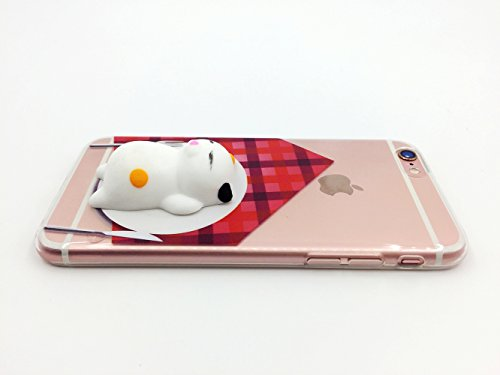 Squishy 3D Animal Tiere Cat Katze iPhone SE Case Hülle handyhülle, Cute Stress Silikon [2017] Spaß Hülle für iPhone 5s / iPhone 5 / iPhone SE (Color-H) Color-C