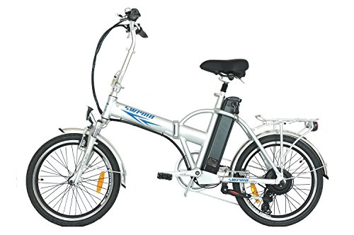 swemo 20 Zoll Alu Klapp E-Bike/Pedelec SW100 Neu (Silber) -