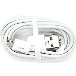 Huawei Datenkabel / Ladekabel - Micro USB -  Grau/Weiß - kompatibel mit Huawei Mobiltelefonen mit Micro USB Anschluss