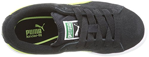 Puma 355110/38, Baskets mode mixte enfant Noir (Black/Sharp Green)